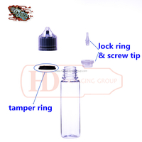60ml e liquid tip removable chubby bottle